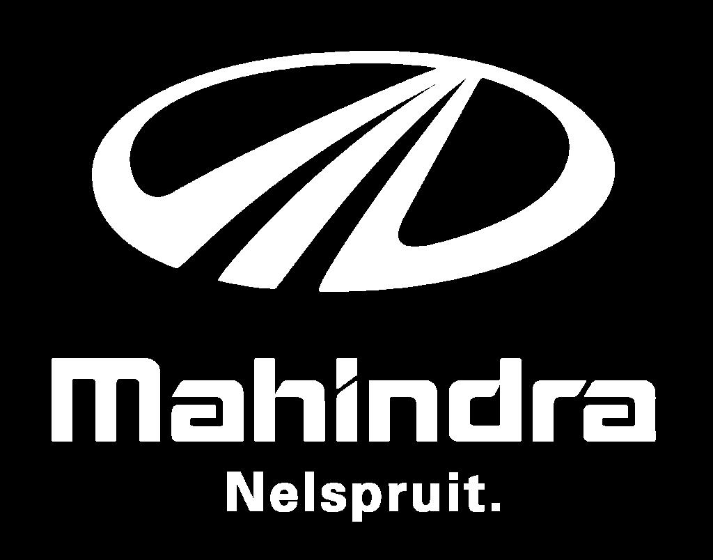 MAHINDRA WHITE LOGO