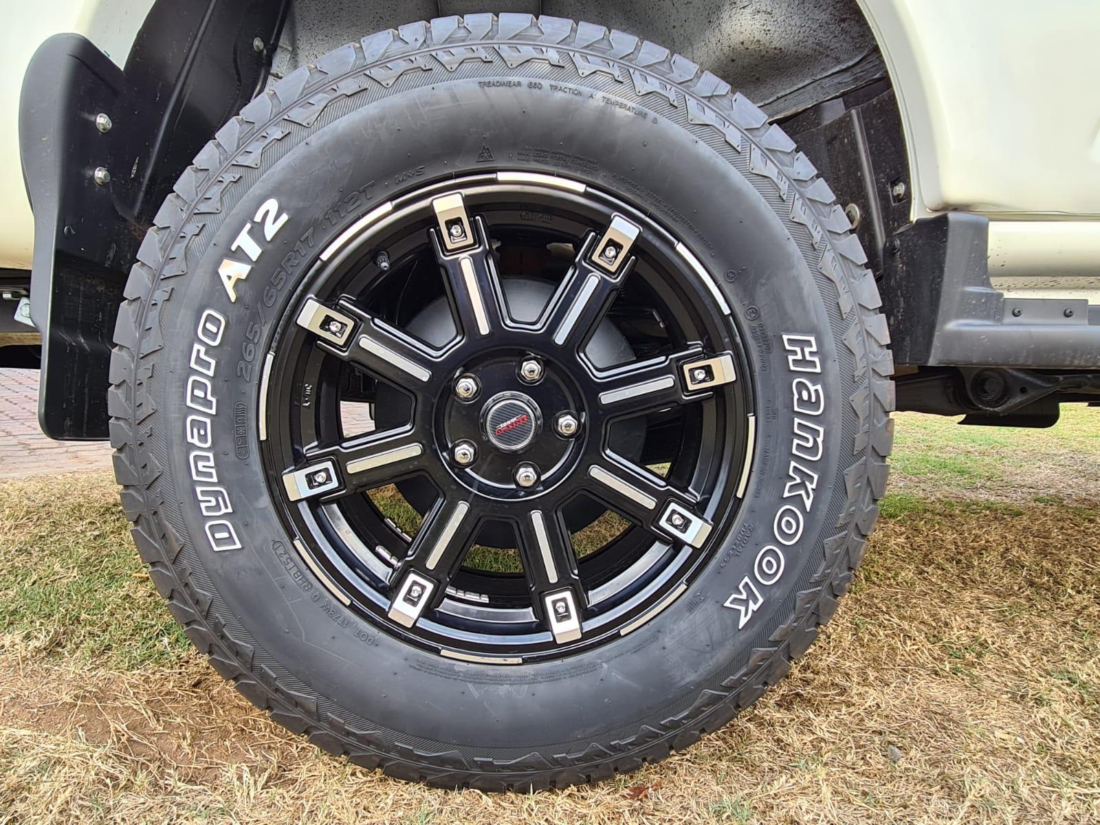 Scorpio S11 4X4 Adventure Wheel